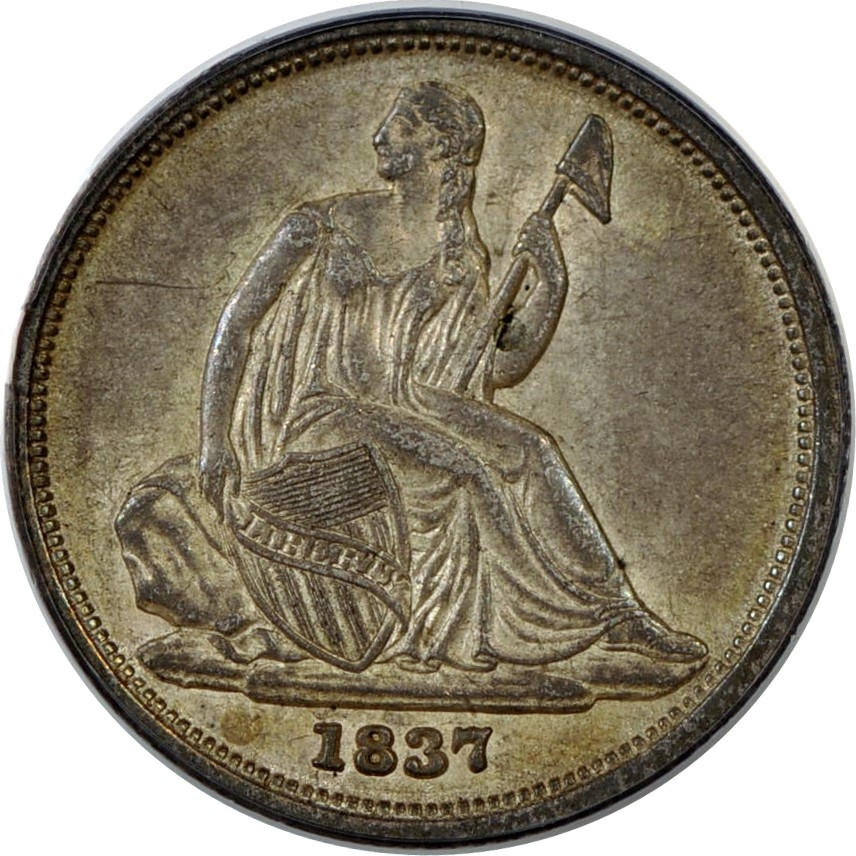 DIMEMAN Collection of Seated Liberty Dimes